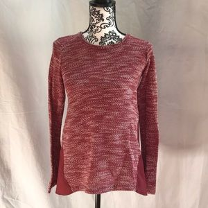 Lucky Brand Denim Red Long Sleeve Size XS